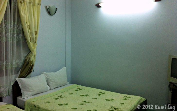 2012年泊まったニャチャンのホテルの部屋
