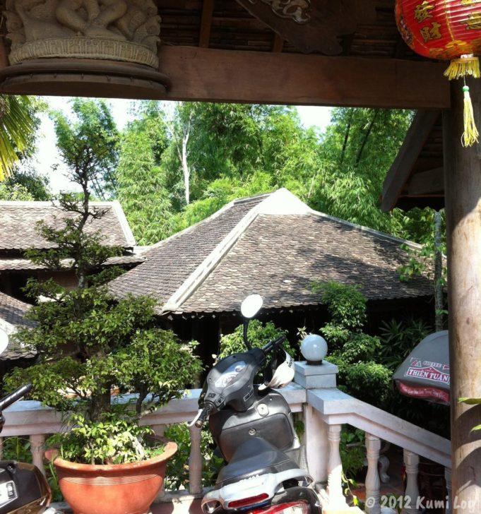 お寺のあとに行ったカフェ