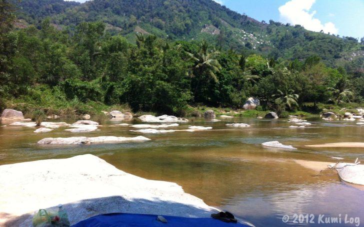 2012年に遊びに行ったベトナムの川
