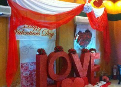フィリピン・アンヘレスのホテルの飾り