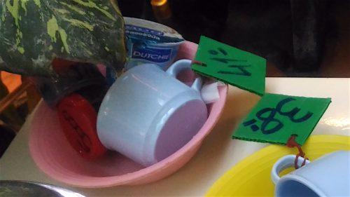 薬草サウナ コーヒーとヨーグルト