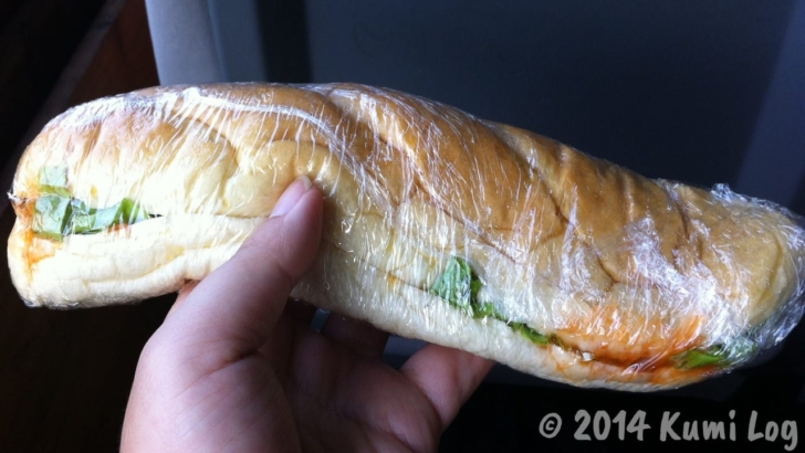 スローボートに持ち込んだサンドイッチその1