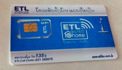 ラオス・プリペイドSIMは4G LTE 1.5GBで約130円!購入方法やインターネットデータプランなど