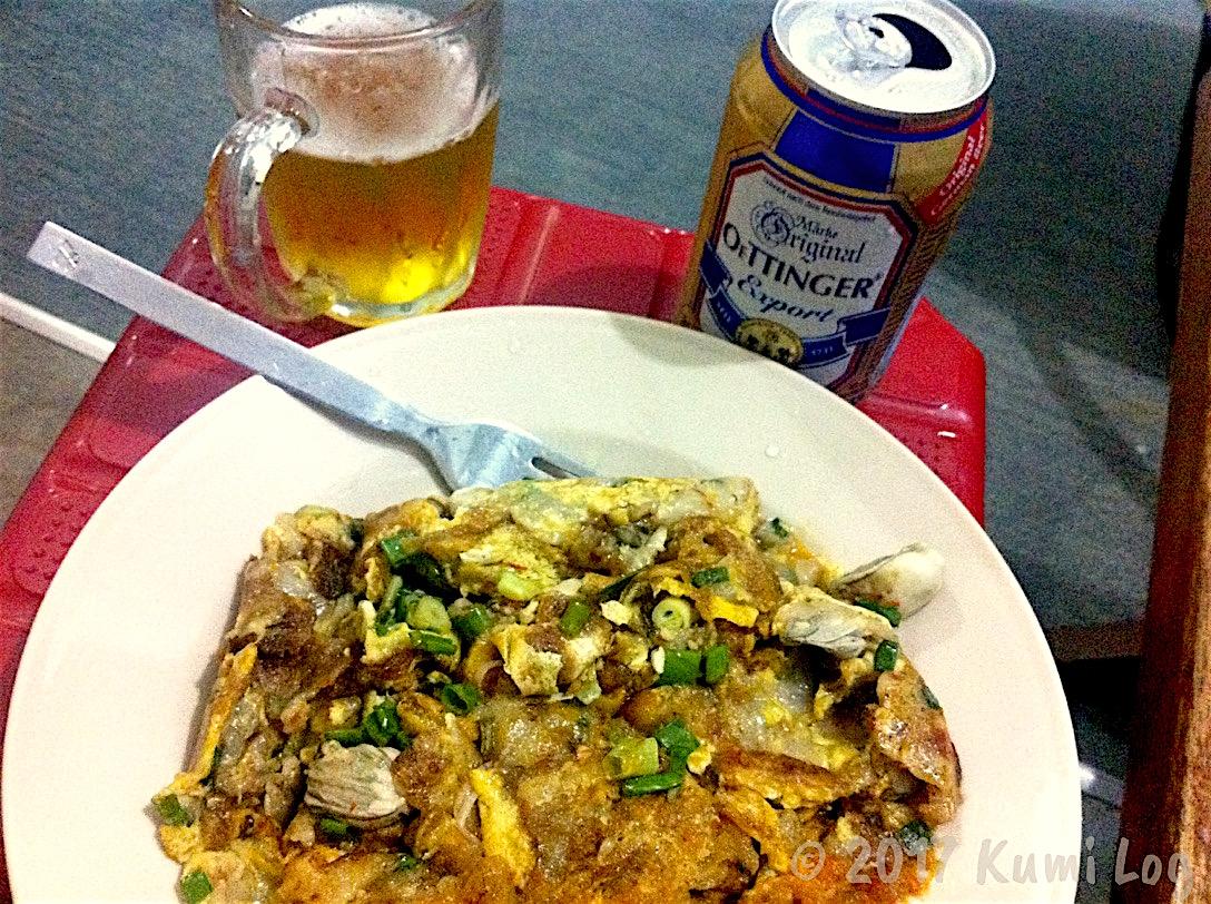 マラッカで食べた蠣煎(オーチェン、牡蠣の卵炒め)がとっても美味しかった件