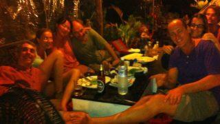 パンガン島での誕生日会
