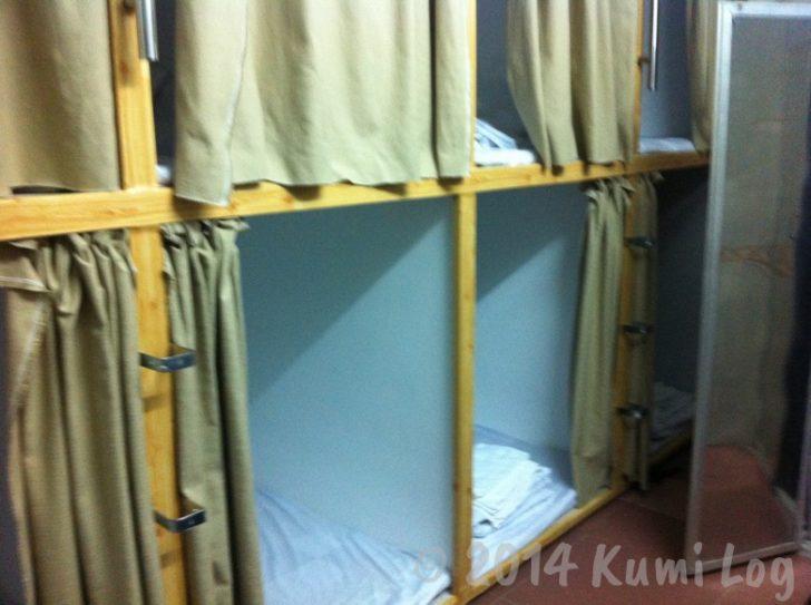 ベトナム ホーチミン Phuc Khanh Hotel 部屋の中