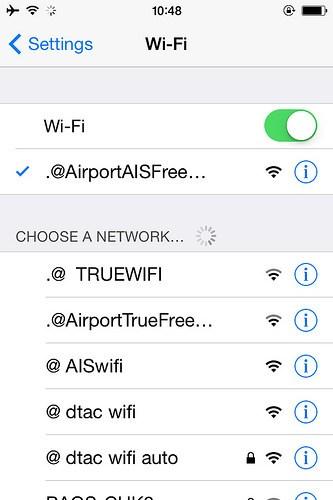 [タイ・Wi-Fi]ドンムアン空港はフリーWi-Fiがあるからネット接続も心配なし!|タイ・バンコク ドンムアン空港 (2)