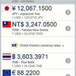 各国の通貨が日本円で今いくらか?為替計算のための確認ツールを紹介します(Mac・iPhone・Android)