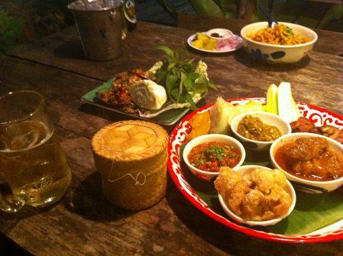 チェンマイ、北タイ料理