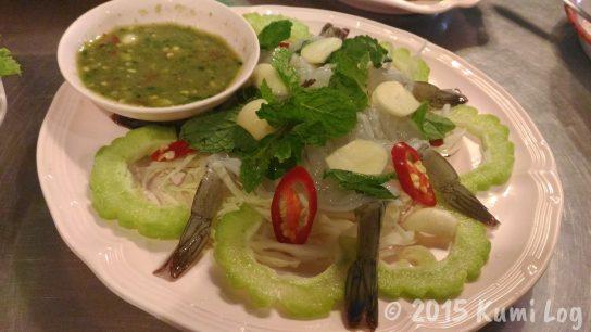 Talad Nam Seafood クンチェー・ナンプラー