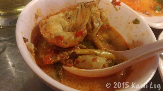 Talad Nam Seafood トムヤンクン