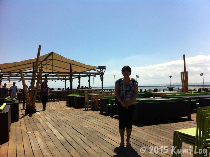 セブの水上レストラン、Lantaw Floating Native Restaurantの店内