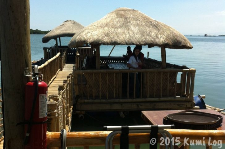 セブ・Lantaw Floating Native Restaurantの個室