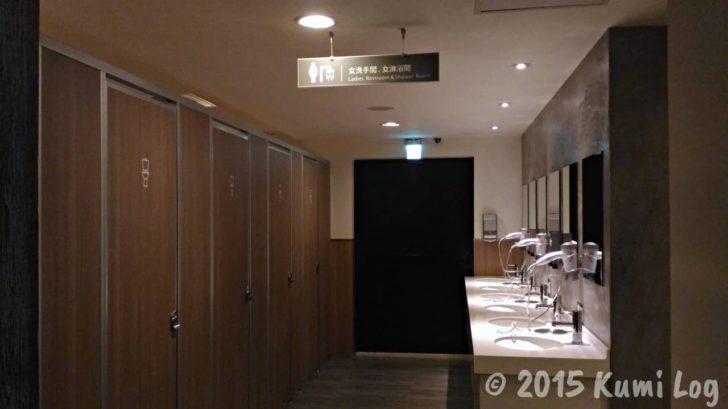 チャンスホテルのシャワールーム