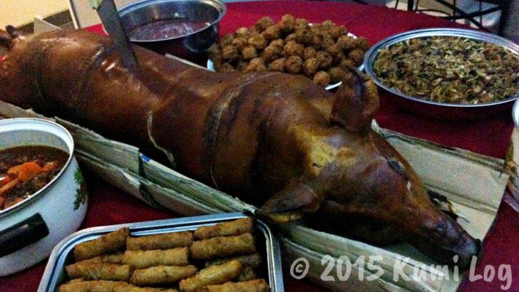 フィリピンの料理、レチョンバボイ