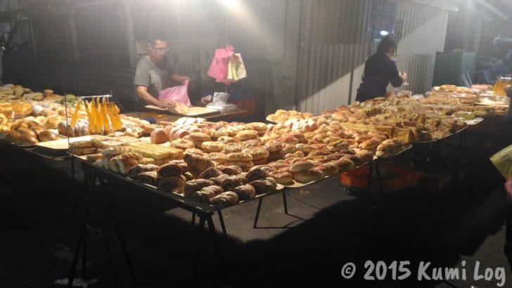 恆春夜市で売られているパン