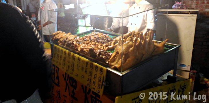 恆春夜市の鶏屋台