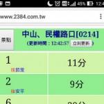 [台湾Hacks]台南ではバス停のQRコードでバスが何分後に来るか分かるよ