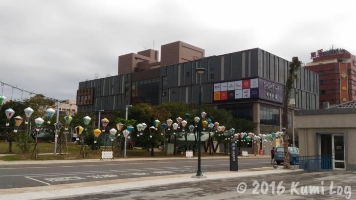 台東バスターミナル近くのビル