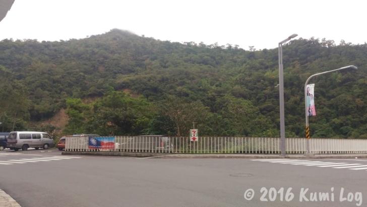 知本温泉のセブンイレブン看板