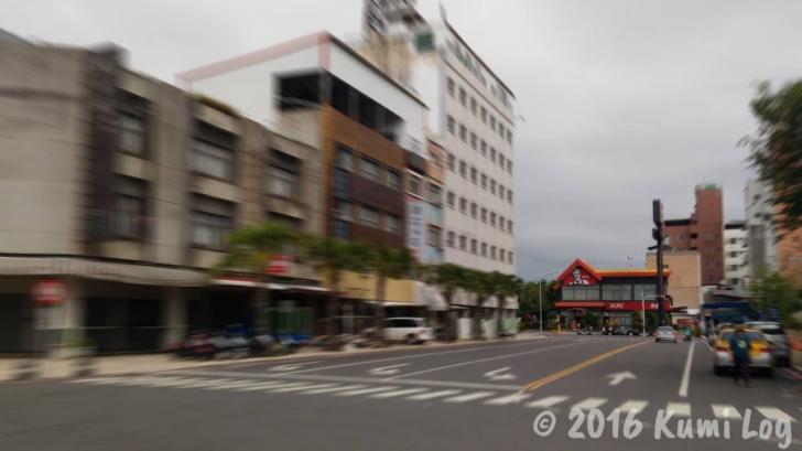 台東バスターミナル近くのKFC