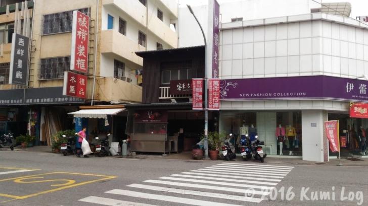 台東バスターミナル近くの蚵仔麺線のお店