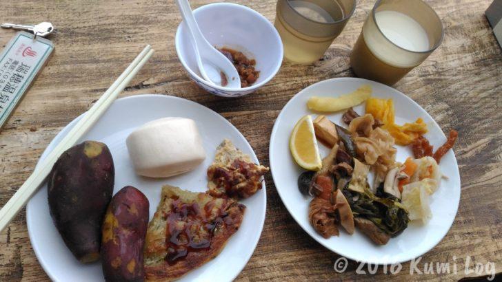瑞穂温泉、私の食べた朝ごはん