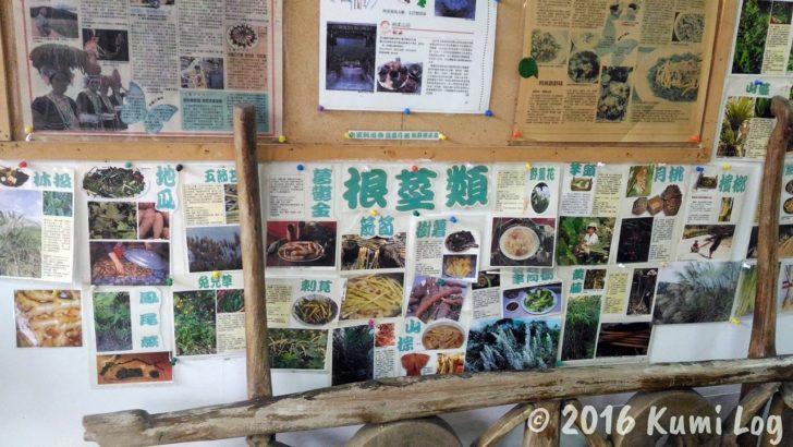 剣柔山荘の野菜説明(根菜類)