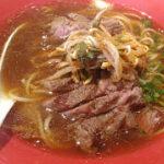 [沖縄・食]ステーキ+ラーメン?沖縄・北谷のStripe Noodlesに行ってきました