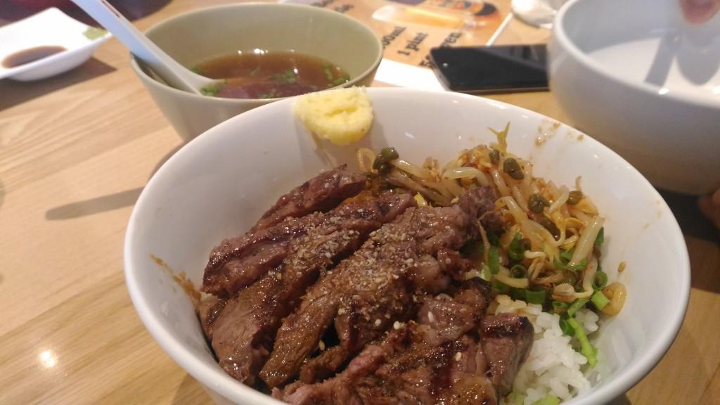 Stripe Noodles ステーキ丼