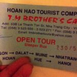 [ベトナム]乗り降り自由のオープンバスチケットでベトナムを縦断しよう!スリーピングバス・オープンツアー