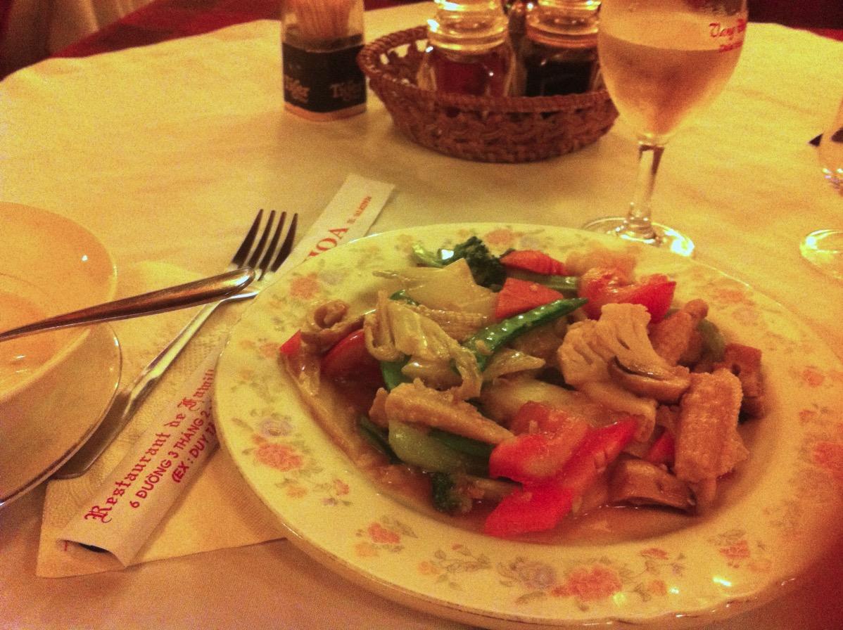 ダラット・野菜料理