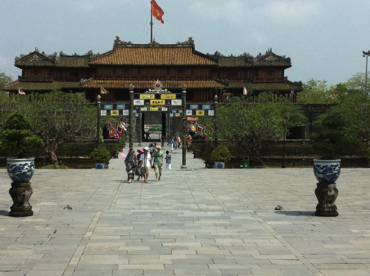 ベトナム・フエ宮殿