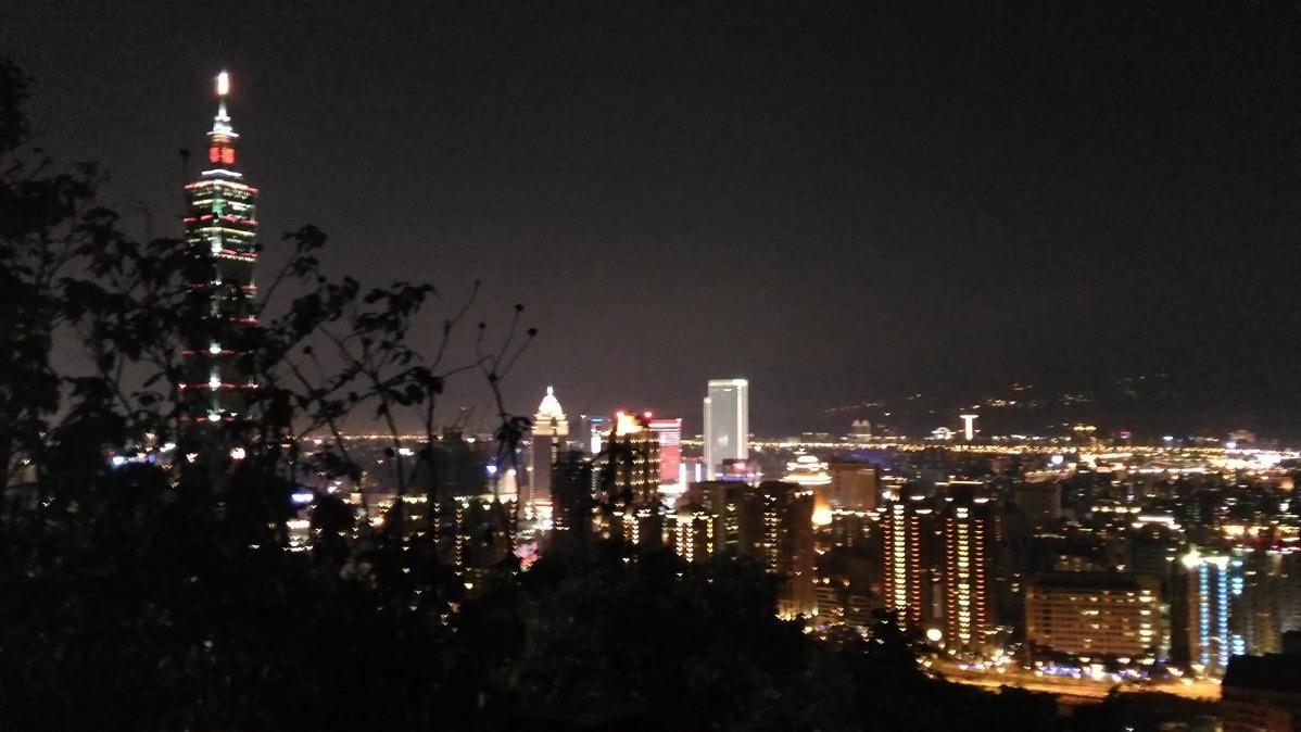 台北・象山からの眺め