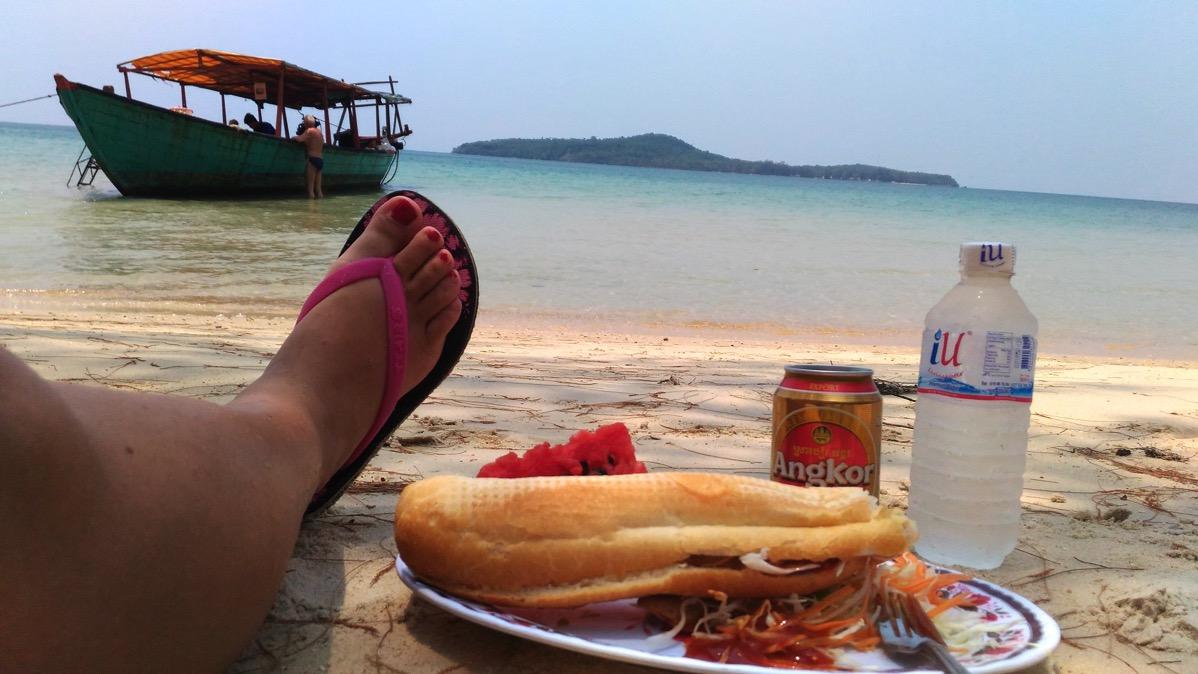 [カンボジア・島]カンボジア・シアヌークビルで3アイランドツアー!海の綺麗な離島を楽しんできました!