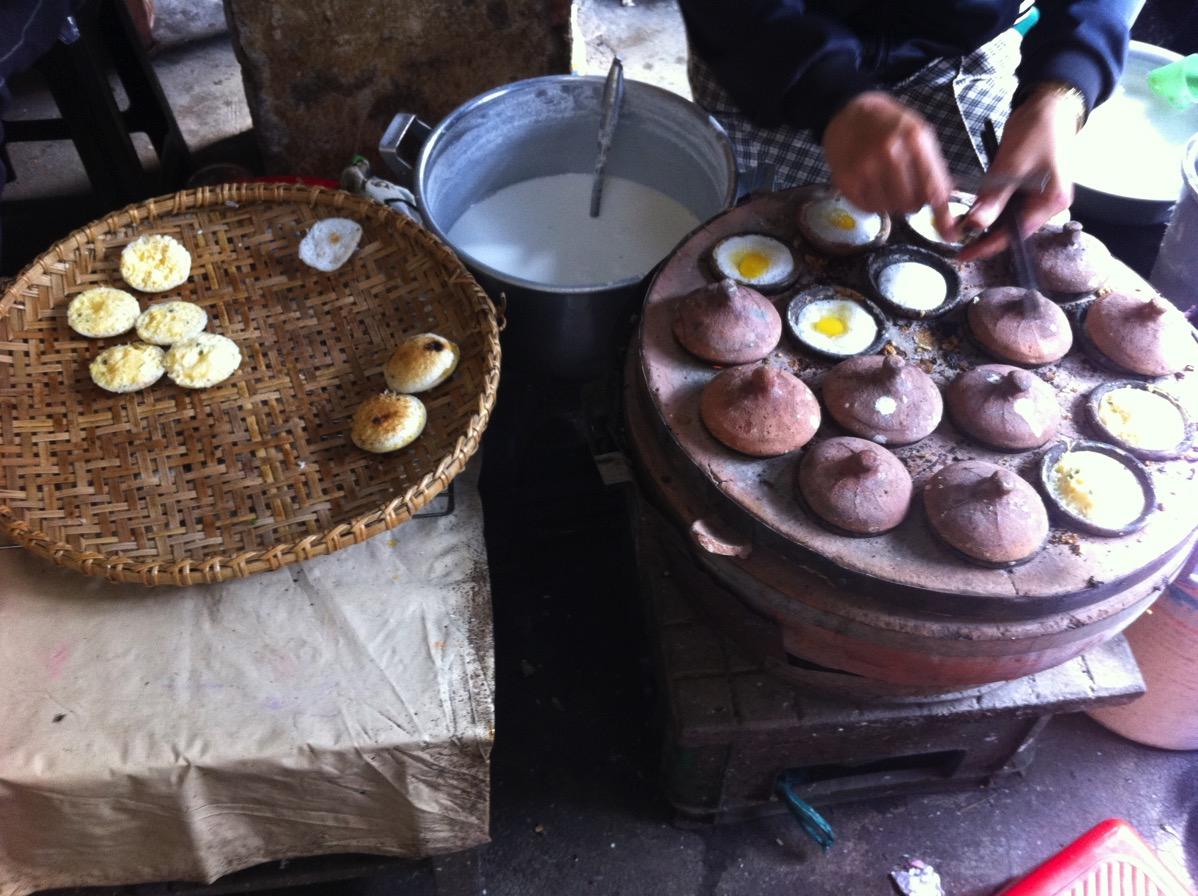 ニャチャン・ローカル市場の食べ物