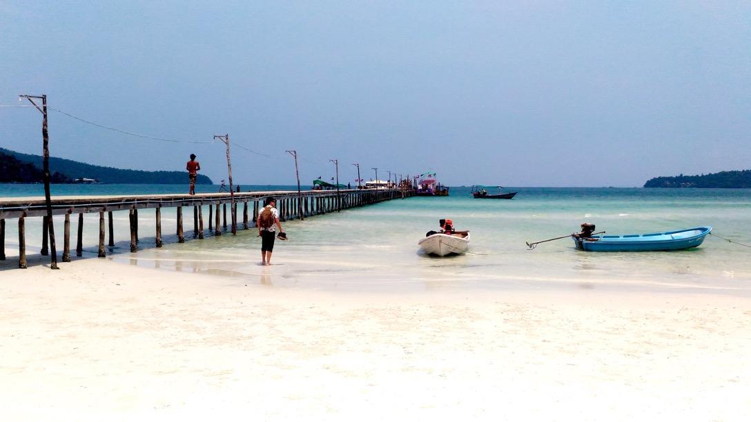 [カンボジア・島]安らげる静かな南の島、ロンサレム島|シアヌークビル