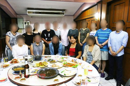 激旨!タイ食堂さん第一回オフ会集合写真