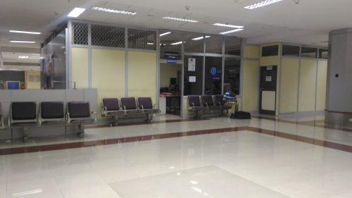 空港の事務所