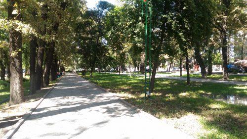 キルギス・ビシュケクの公園