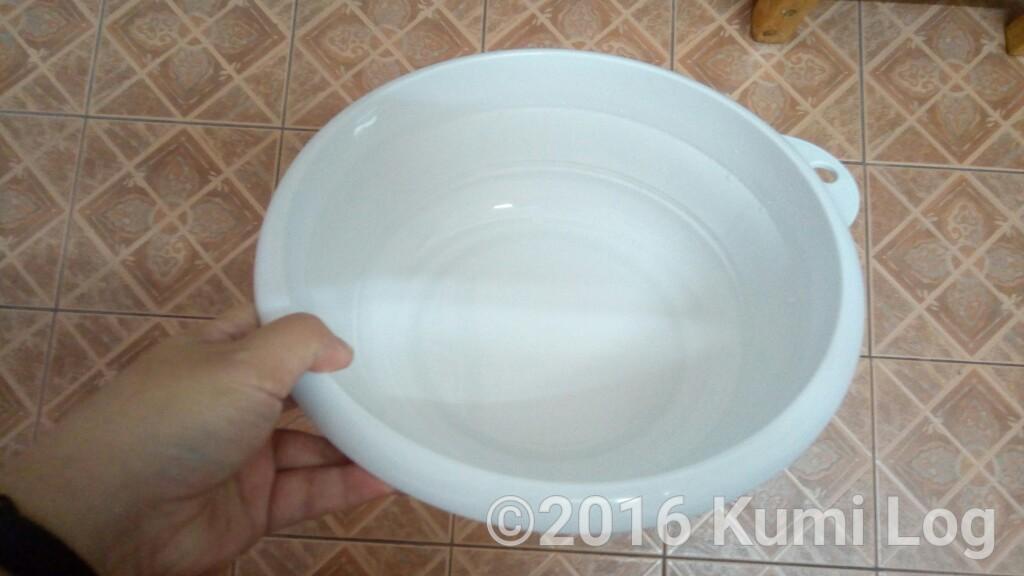 折りたたみ洗面器