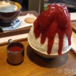After Youのストロベリーチーズケーキかき氷