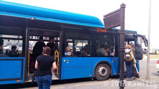 トビリシ空港・37番のバス