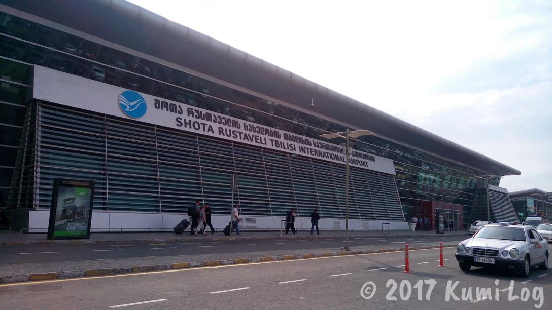 ジョージア(グルジア) ・トビリシ国際空港、現地通貨とプリペイドSIM入手・市内への移動