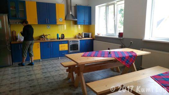 ラホフ・Dream Hostel キッチン