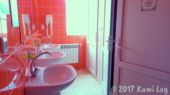 ラホフ・Dream Hostel 水回り