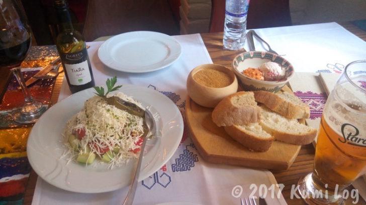 ブルガリア・ソフィアのレストラン
