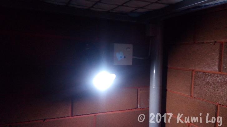ライトとコンセント