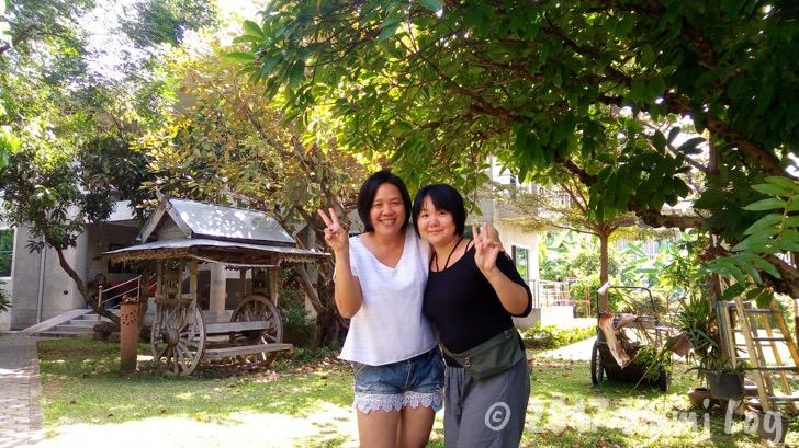 [宿] チェンマイ旧市街、緑あふれる庭園のGongkaewHuen kum Guesthouse(ゴンゲオゲストハウス) /sponsored
