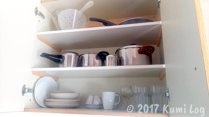 123 Soleil Studios キッチン